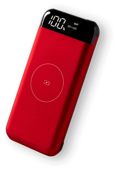 red powerbank